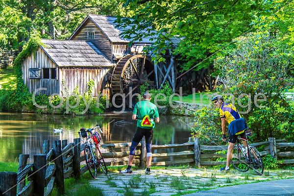 Blue Ridge Parkway - ACA Bike Tour - Day 2