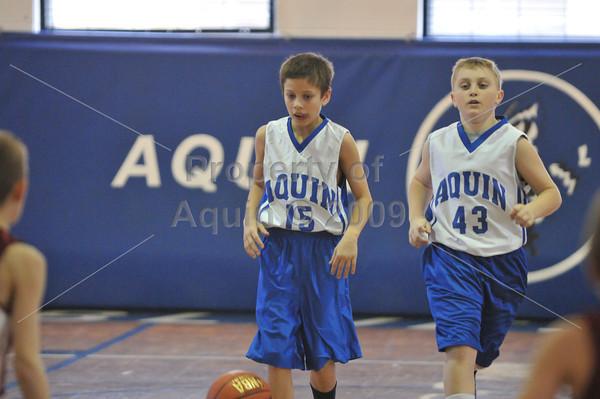 5th grade boys ball vs stockton  1.19.13