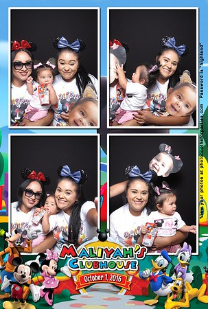 Maliyah's 1st Birthday