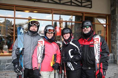 Wed Skiers