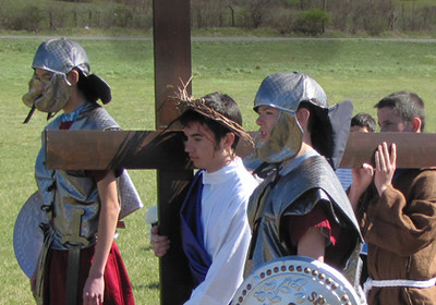 """TEENS """"Living Stations of the Cross"""" 2012"""
