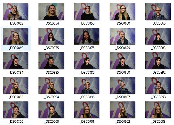 Adelaide Fringe Staff Head Shots 2018