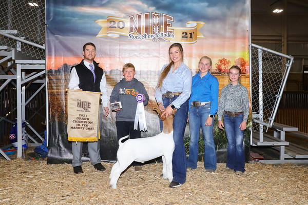 Jr Fed Market Goat Show
