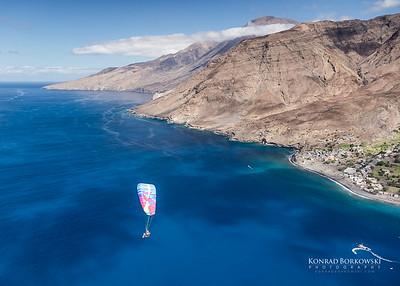 Paragliding in Cape Verde / Azores / Switzerland