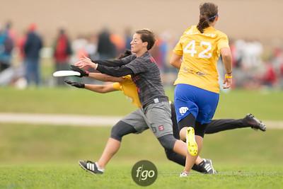 9-29-16 San Francisco Fury v Washington D.C. Scandal Women's Division USAU National Championships