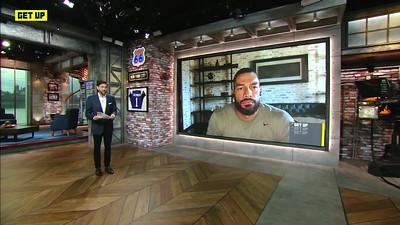 Roman Reigns - Screencaps / ESPN Interview Aug. 20, 2021