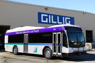2014 Rider Transit Hybrid Replacement Buses