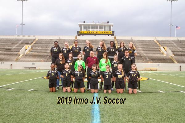2019 Girls JV Soccer