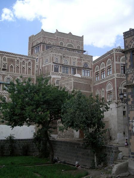 in old Sana'a