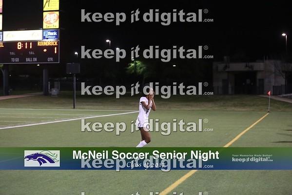 McNeil Girls Soccer Sen Night 03_10_17