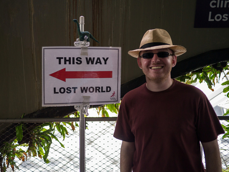 Jonty and Dyno find the Lost World