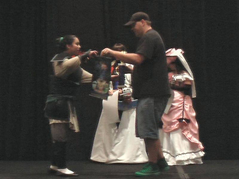 Judges Award to Mulan