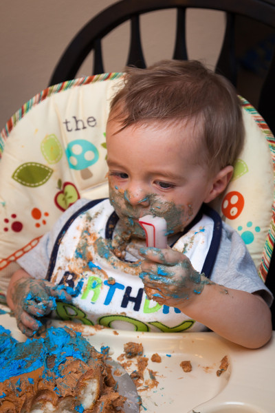 JACK'S FIRST BIRTHDAY PARTY
