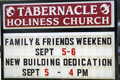 Tabernacle Multi-Purpose Building ribbon cutting