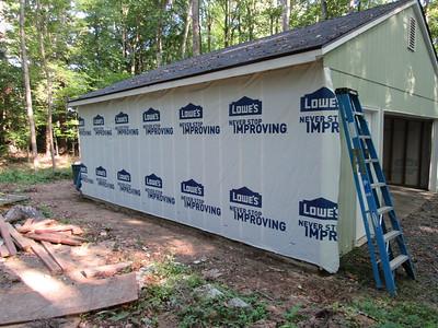 Finishing 2nd load bearing wall