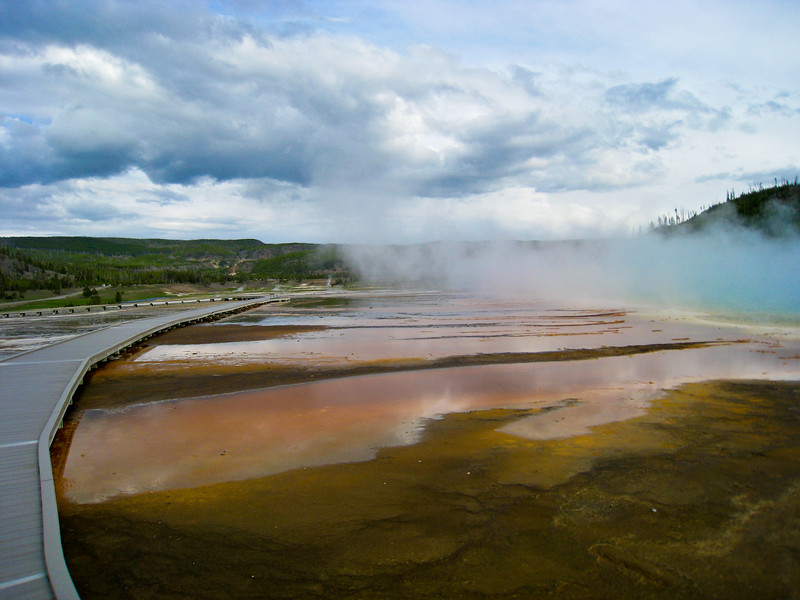 Grand Prismatic at Midway Geyser Basin