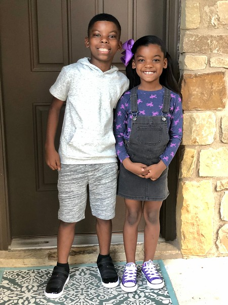 Marley and Ashtyn | 4th grade and 2nd grade | Reed Elementary
