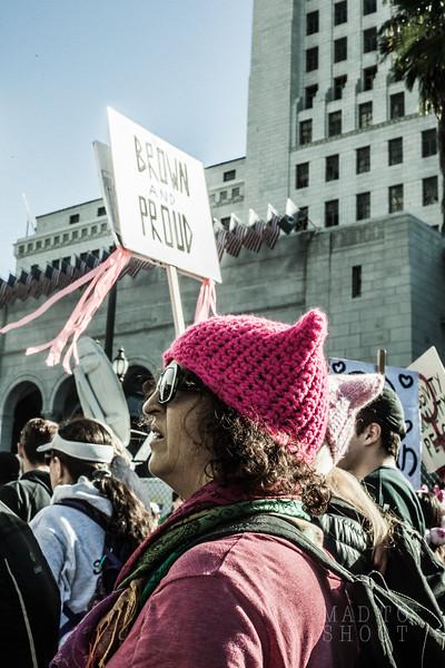 Los Angeles Women's March 2018
