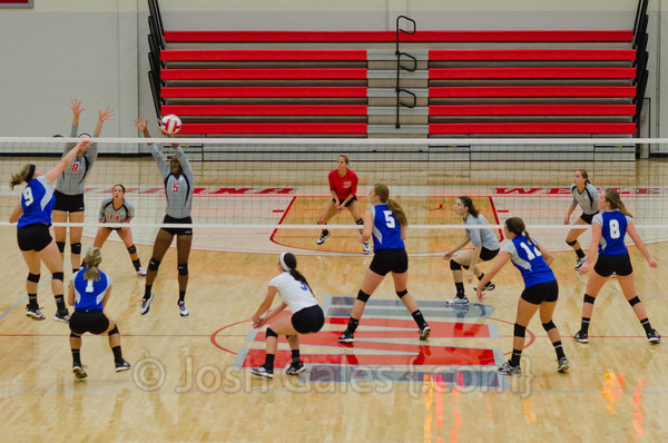 9/13/13 Volleyball vs. Bethel