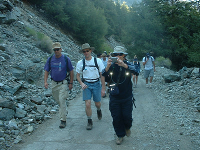 Baldy Training hike 5/25/02