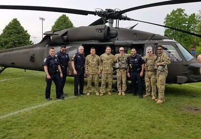 Memorial day 2019 Helicopter display