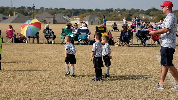 Colin's Soccer Game
