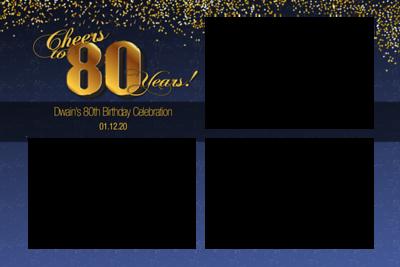 Dwain's 80th