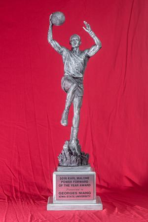 ISU Basketball trophies 09/20/19