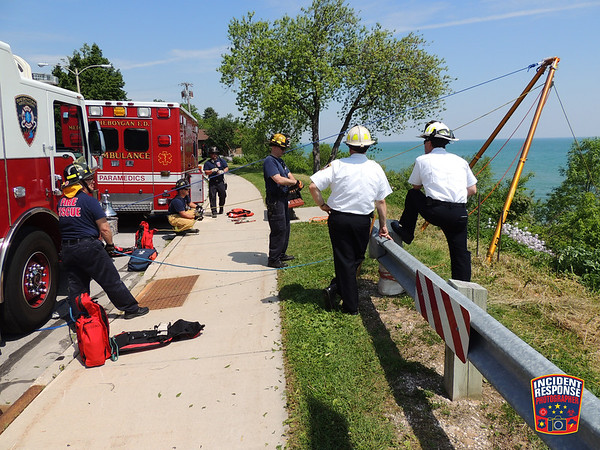 Rope Rescue Training on June 10, 2015