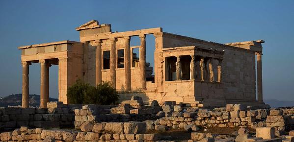 Athens New Acropolis Museum Caryatids
