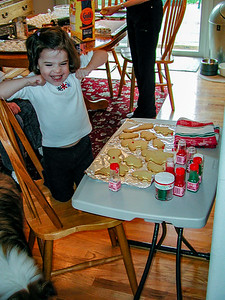 Christmas Cookie Day and Party - 2003