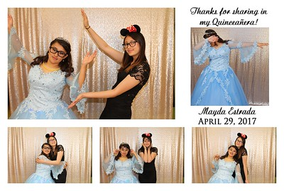 Mayda's Quinceañera Photo Booth