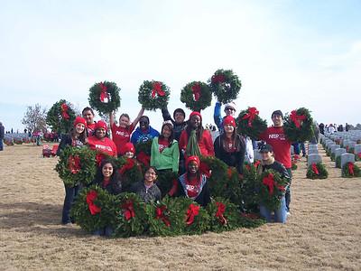 Christmas Wreaths for Veterans 2011