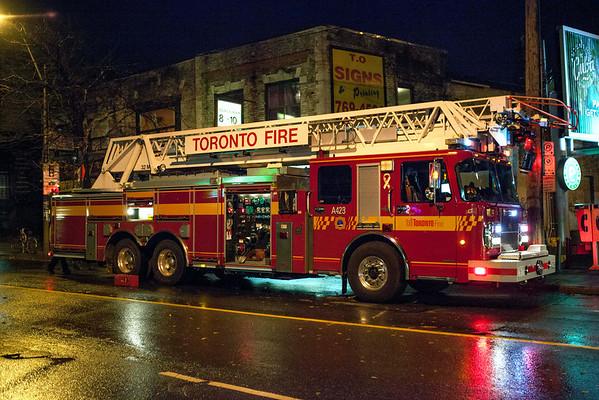 October 29, 2012 - 2nd Alarm - 392 Keele St.