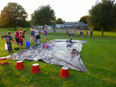 Cub & Scouts water games - July 2014