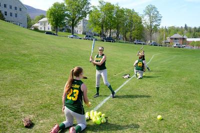 2014 BBA Varsity Girls Softball vs Twin Valley photos by Gary Baker