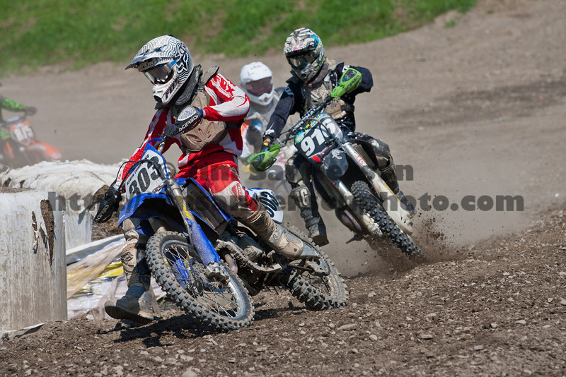 District 6 Ultimate Motocross Series Warm-Up Race, Broome-Tioga Sports Center 08-20-2011