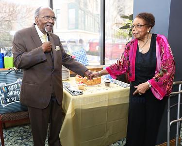 William Harvey 90th Birthday & Ruby Dancy 89th Birthday 3-2-19