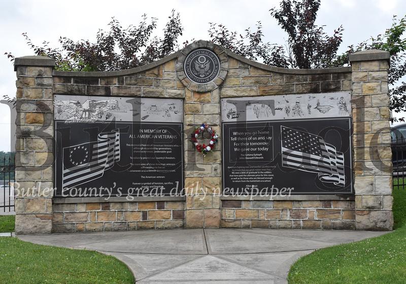 Chicora war memorial Andie Hannon/Butler Eagle