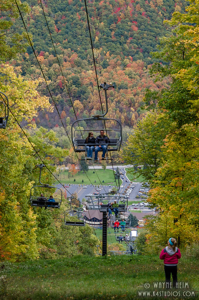 Chairlift - Photography by Wayne Heim