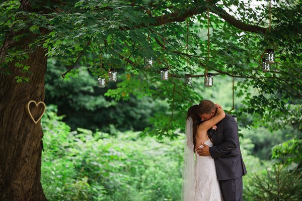Intimate Backyard Grand Rapids Wedding