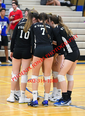 9-12-17 - Xavier College Prep @ O'Connor Varsity Volleyball
