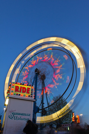 Slow Shutter Speed At The Carnival
