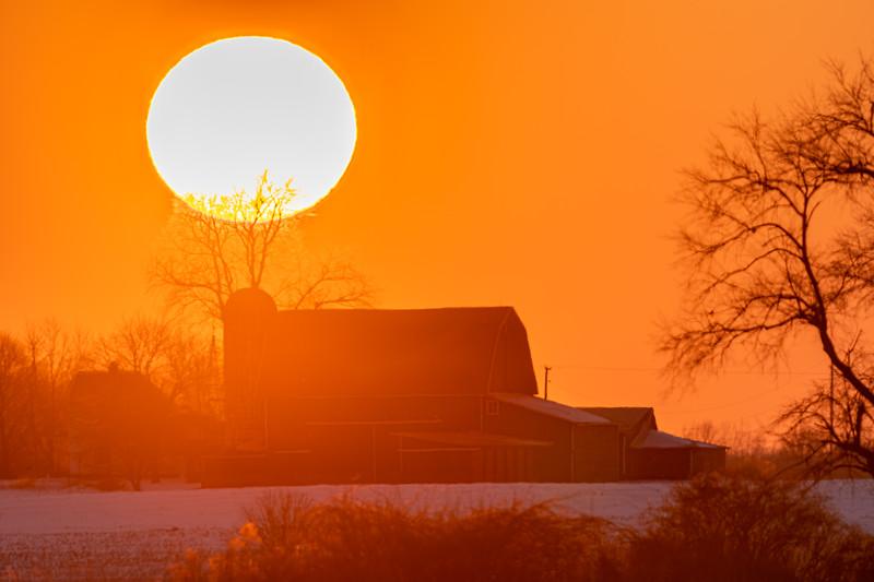 sunset over the Webber's barn 2-16-20-9.jpg