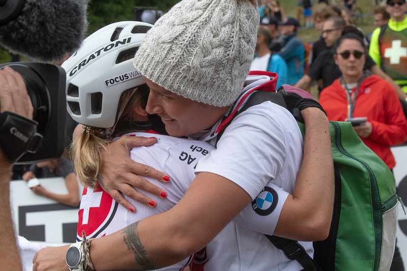Sina Frei (Switzerland) - World Champion /  Silja Stadler