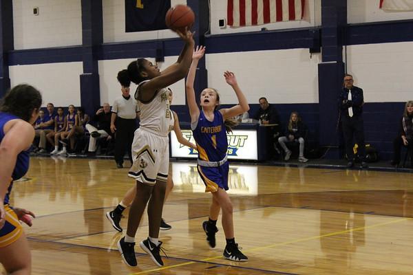 V Girls Basketball vs Canterbury