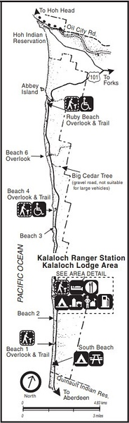 Olympic National Park (Kalaloch Area)