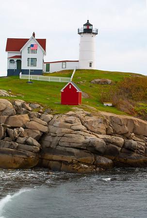 Boston, and north along Coast of Maine to Bar Harbor