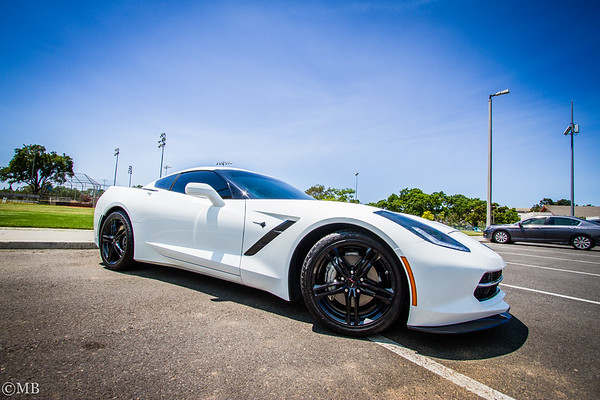Supercharged C7 Stingray Corvette