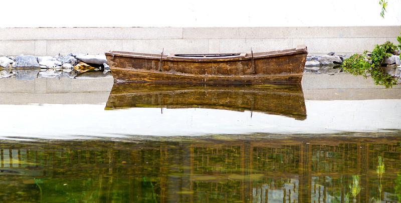 Boat still life
